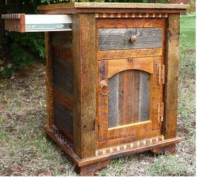 Rustic Country Night Stand