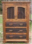 Rustic Homestead Gentleman's Chest