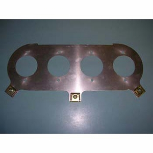 Baseplate, CBR 1100XX, carb. '97-'98