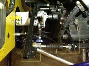 CBR Clutch Cable Linkage Kit