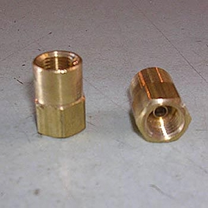 Connector, F. 1/8inch NPT x 3/16inch Tube
