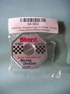 Radiator Cap, Large, 21-25 lbs.