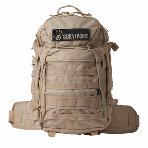 12 Survivors Tactical Backpack Tan (TS41000T)