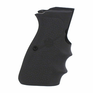 Hogue Rubber Grip, Browning High Power 9mm w/Finger Grooves
