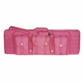 "Lady Voodoo Tactical Pink 36"" Padded Weapons Rifle Case"