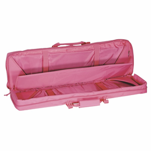 """Lady Voodoo Tactical Pink 36"""" Padded Weapons Rifle Case"""