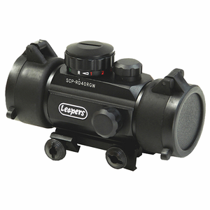"Leapers Inc. UTG 3.8"" R/G Dot Sight w/Integral Mount"