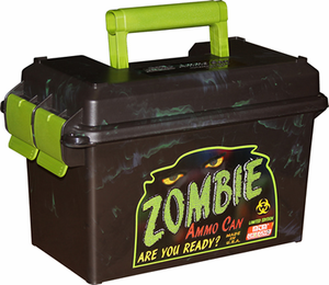 """MTM Case Guard """"Zombie"""" 50 Cal Ammo Can"""