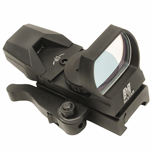 NcStar Green Reflex Sight/4 Reticles/QR Mount/Black