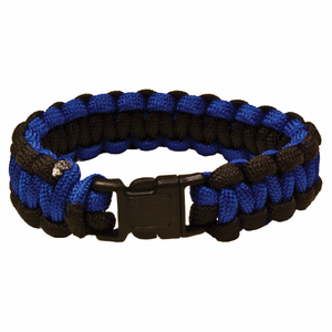 red rock gear paracord survival bracelet blackblue