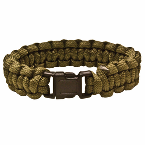 red rock gear paracord survival bracelet olivedrab
