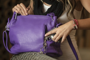 "Urban Moxy ""Aurora"" Purple Concealed Carry Purse"
