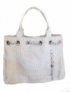 "Urban Moxy ""Nicole"" Silver Concealed Carry Tote"