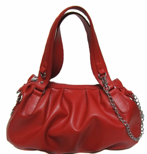 "Urban Moxy ""Penny"" Red Concealed Carry Handbag"