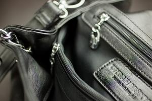 """Urban Moxy """"Sharon"""" Black Concealed Carry Purse"""