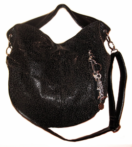 "Urban Moxy ""Shelly"" Black Sparkle Concealed Carry Handbag"