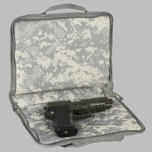 Voodoo Tactical Pistol Case with Mag Pouches
