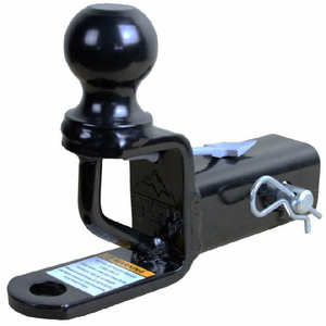 ATV-Tek Trio HD 2 Inch Receiver Hitch w| Ball Mount