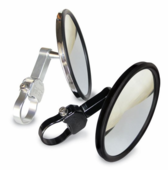 Axia Alloys 5 Inch Flat Side View Mirror |Sold in pairs|