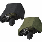 "Black or Olive Drab UTV Cover - Up to 125""L x 64""W x 70""H"