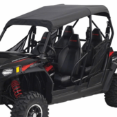 Black Soft Top by Classic Accessories - Polaris RZR 4 800 | XP 4 900