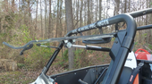 D.O.T. Approved Flip Up Windshield - Polaris RZR