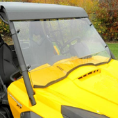 D.O.T. Approved Hard Coated Full Front Windshield - Can Am Commander