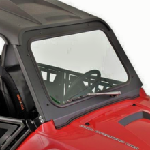 D.O.T. Approved Safety Glass Front Windshield w| Wiper - Polaris RZR 570 | 800 | S 800 | XP 900
