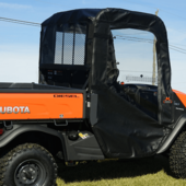 Doors and Rear Window by Over Armour Offroad - Kubota RTV X900 | X1120