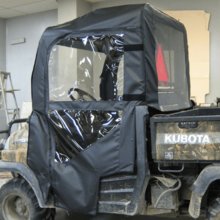 Doors, Rear Window and Top |No Windshield| by Over Armour Offroad - Kubota RTV 400 | 900