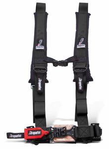 Dragonfire H-Style 2 Inch 4 Point Harness - Black