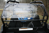 EMP Hard Coated Cab Back and Dust Stopper - Polaris RZR 570 | 800 | S 800