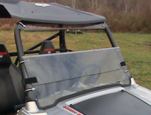 Folding Front Windshield by Dot Weld - Polaris RZR 570 | 800 | S 800 | XP 900