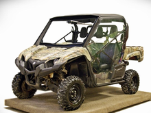 Hard cab enclosure for yamaha wolverine for Top speed of yamaha wolverine side by side