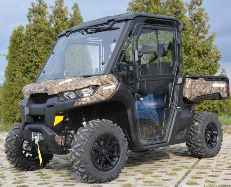 Full Hard Cab Enclosure By Dfk For Can Am Defender