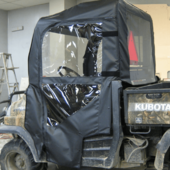 Full Soft Doors by Over Armour Offroad - Kubota RTV 400 | 900
