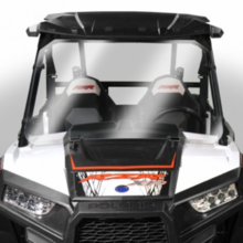 Hard-Coated Full Front Windshield by National Cycle - Polaris RZR