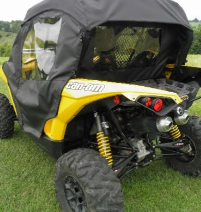 & Can Am Commander | Maverick Doors | Back: SideBySideStuff.com
