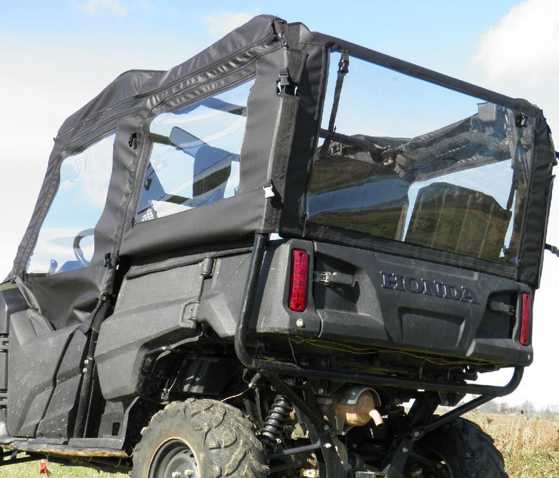 GCL Doors And Rear Window   Honda Pioneer 700 4