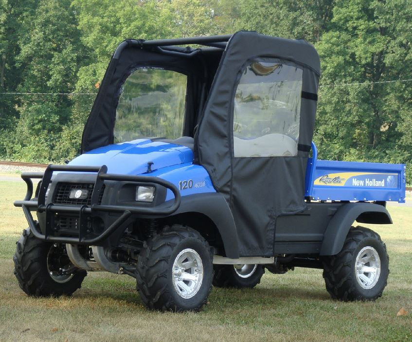 1 & GCL Doors and Rear Window for New Holland Rustler: SideBySideStuff.com Pezcame.Com