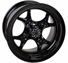 GMZ Black Venomous Wheel Set w| Lug Nuts - 14 Inch