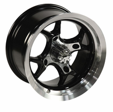 GMZ Machined Venomous Wheel Set w| Lug Nuts - 12 and 14 Inch