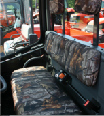 Greene Mountain Outdoors Seat | Head Rest Covers - Kubota RTV 1100