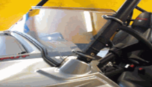 Half Front Windshield by Dot Weld - Polaris RZR 570 | 800 | S 800 | XP 900
