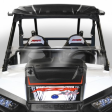 Hard-Coated Half Front Windshield by National Cycle - Polaris RZR