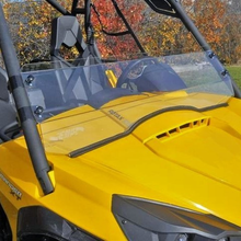 Half Front Windshield by EMP - Can Am Commander