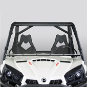 Hard-Coated Full Front Windshield by National Cycle - Can Am Commander