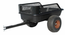 Impact Implements Off Road Trailer