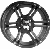 ITP SS212 Black Wheels w| Lug Nuts - 12 and 14 Inch