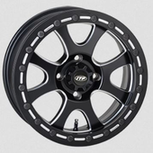 ITP Tsunami Matte Black Beadlock Wheel Set - 14 and 15 Inch